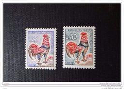 France 1962  N° 1331 Et 1331A  Etat Neuf**  Coq De Decaris - France