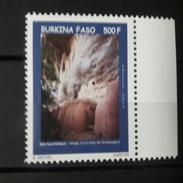 BURKINA FASO 2016 TOURISME TOURISME Site Touristique Village Troglodyte De Gnassogoni MARGIN  RARE MNH ** - Burkina Faso (1984-...)