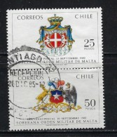 Chile 633a Used 1983 Pair - Chile