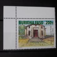 BURKINA FASO 2016 ANCIEN BUREAU DE POSTE CORNER COIN DE FEUILLE CDF  RARE MNH ** - Burkina Faso (1984-...)