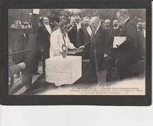 13  MARSEILLE - Grande Fête Présidentielle - M. Poincaré Pose La 1° Pierre Du Palais Du Maroc De La Future Exposition - Marseille