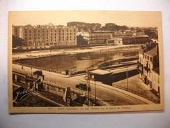 Carte Postale Dax (40) Les Hotels Sur Le Bord De L'Adour (Petit Format Non Circulée ) - Dax