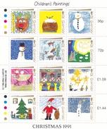 Guernsey, 1991, 537/48, Christmas. MNH ** - Guernsey
