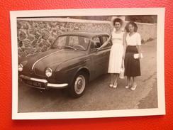 VOITURE RENAULT DAUPHINE PHOTO 10 X 7 - Automobiles