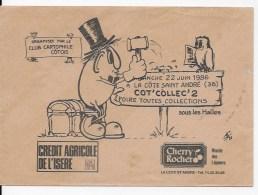 Enveloppe Foire Toutes  Collections La Cote Saint André 1986 - Other