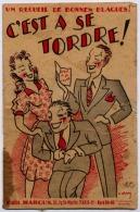 C'EST A SE TORDRE UN RECUEIL DE BONNES BLAGUES ANNEE 1950  DE 8 PAGES - Livres, BD, Revues