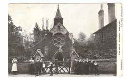 Hanwell / London - Catholic Church - 1907 - Animation - London Suburbs