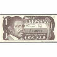 TWN - BOTSWANA 6a - 1 Pula 1983 Prefix A/14 UNC - Botswana