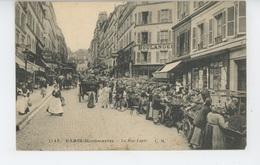 PARIS - XVIIIème Arrondissement - MONTMARTRE - La Rue Lepic - Arrondissement: 18