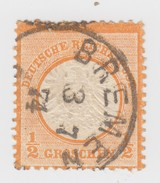 I/2 Gr.  Mi 18.  Yv 15  BREMEN   A2    / 908 - Germany