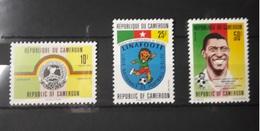 CAMEROUN CAMEROON 1993 - FOOTBALL SOCCER CUP Michel Mi Mi. 1206 1207 1208 1206/8 YT 870A/C 870 - ULTRA RARE - MNH ** - Calcio