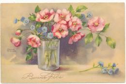 Hannes PETERSEN - Bonne Fête -  Bouquet De Fleurs - Petersen, Hannes