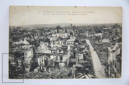 Postcard France - Aisne, Soissons - Vue D'ensemble - Quartier De La Cathedrale - The Cathedral Quarter - Ruins - Soissons