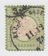 I K  Mi 23.  Yv 20  BADEN BADE   C1    / 908 - Oblitérés