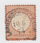 2 1/2 G   Mi 21.  Yv 18  LANGENSCHWALBACH    C3   / 908 - Allemagne
