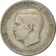 Grèce, Constantine II, Drachma, 1970, TTB, Copper-nickel, KM:89 - Grèce