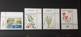 IVORY COAST COTE D'IVOIRE 2013 PLANTES PARASITES PARASIT PLANTS FLOWERS FLEURS TURTLE TORTUE -FULL SET - RARE - MNH ** - Ivory Coast (1960-...)