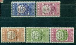 Jemen, Einführung Des Telefons Saana 1959 Nr. 179 - 183 Postfrisch ** - Jemen