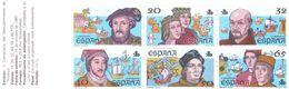 WIT567  SPANIEN 1986  MICHL  2799/04 MARKENHEFT 3 ** Postfrisch  SIEHE ABBILDUNG - 1981-90 Ungebraucht