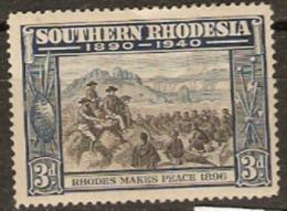 Southern Rhodesia 1940 SG 57 3d Mounted Mint - Southern Rhodesia (...-1964)