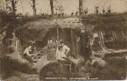NOORDSCHOOTE 1918 - DANS LA TRANCHEE DE PIQUET - Guerre 1914-18