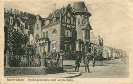 Saarbrücken - Feldmannstrasse Und Winterberg 1919 (001240) - Saarbrücken