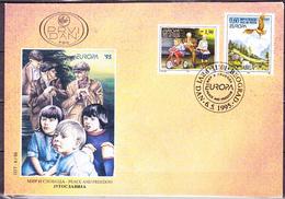 Jugoslawien Yugoslavia Yougoslavie - Europa (MiNr: 2712/3) 1995 - FDC - 1995
