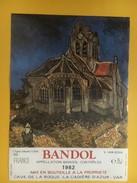 4846 - Bandol 1982 LÊglise D'Auvers Sur Oise Vincent Van Gogh - Art