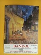 4847 - Bandol 1982 Le Café Le Soir Vincent Van Gogh - Art