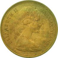Bahamas, Elizabeth II, Cent, 1966, Franklin Mint, TTB, Nickel-brass, KM:2 - Bahamas