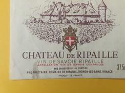 4854 - Château De Ripaille Vin De Savoie - Etiquettes