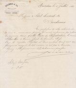 Amsterdam, Stibe & Co, Recherche D'un Navire Dans Les Registres D'assurance,1881 - Netherlands