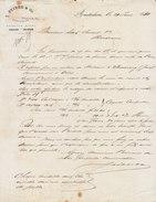 Amsterdam, Stibe & Co, Demande De Renseignement, Expédition De 200 Caisses De Cognac 1881 - Netherlands