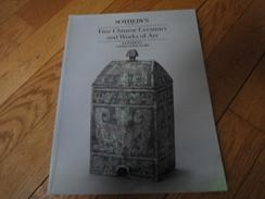 Catalogue De Ventes SOTHEBY'S London 1990-Fine Chinese, Céramics And Works Of Art. - Livres, BD, Revues