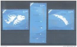 ISLAS MALVINAS, GEORGIAS DEL SUR Y SANDWICH DEL SUR REPUBLICA ARGENTINA SERIE COMPLETA AÑO 2012 COMPLETE SET TBE MNH - Falkland Islands