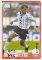 Sticker Panini Italy 2002 Fifa World Cup Claudio Lopez - Panini