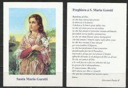 Santino: Santa Maria Goretti - Andachtsbilder