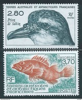 TAAF - 1994  - Faune Antarctique  - N° 189/190  - Neuf **   - MNH - Neufs
