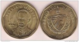 2012-MN-100 CUBA 1$ KM# 347 2012. JOSE MARTI. UNC. - Cuba