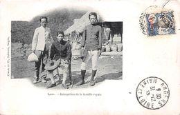 ¤¤  -   LAOS   -  Interprêtre De La Famille Royale En 1913  -  Oblitération    -  ¤¤ - Laos