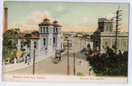 BUENOS AIRES Estacion Casa Amarilla SOUVENIR DE LA REPUBLIQUE ARGENTINE EXPOSITION INTERNATIONALE ROUBAIX 1911 - Argentina