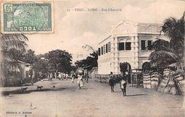 ¤¤  -  TOGO   -  LOME   -  Rue D'Amutivé      -  ¤¤ - Togo