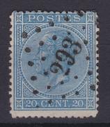 N° 18 LP 293 PERUWELZ - 1865-1866 Profil Gauche