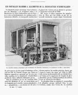 LES NOUVELLES MACHINE à ALLUMETTES De La MANUFACTURE D'AUBERVILLIERS   1904 - Tabac (objets Liés)