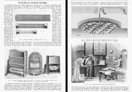 APPLICATIONS DU CHAUFFAGE ELECTRIQUE   1904 - Non Classés