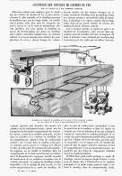 CHAUFFAGE DES VOITURES De CHEMIN De FER Par La VAPEUR Et L'AIR COMPRIMé COMBINéS   1904 - Chemin De Fer