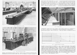 UN BUREAU CENTRAL TELEPHONIQUE MODERNE  1904 - Téléphonie