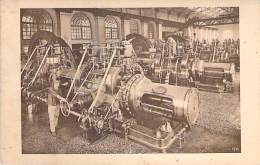 METIERS Industrie - 71 - Usines Du CREUSOT : Groupes Electrogènes à Gaz - CPA - Usine Entreprise Factory Industry - Industrie