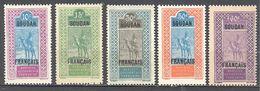 Soudan: Yvert N°37/41**; MNH; Cote 5.85€ - Soudan (1894-1902)