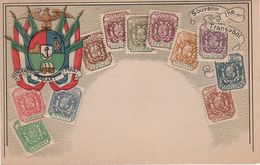 Philatelie Litho AK Transvaal Südafrika South Africa Afrique De Sud Kolonie Colony Postzegel Briefmarke Stamp Timbre - Zuid-Afrika